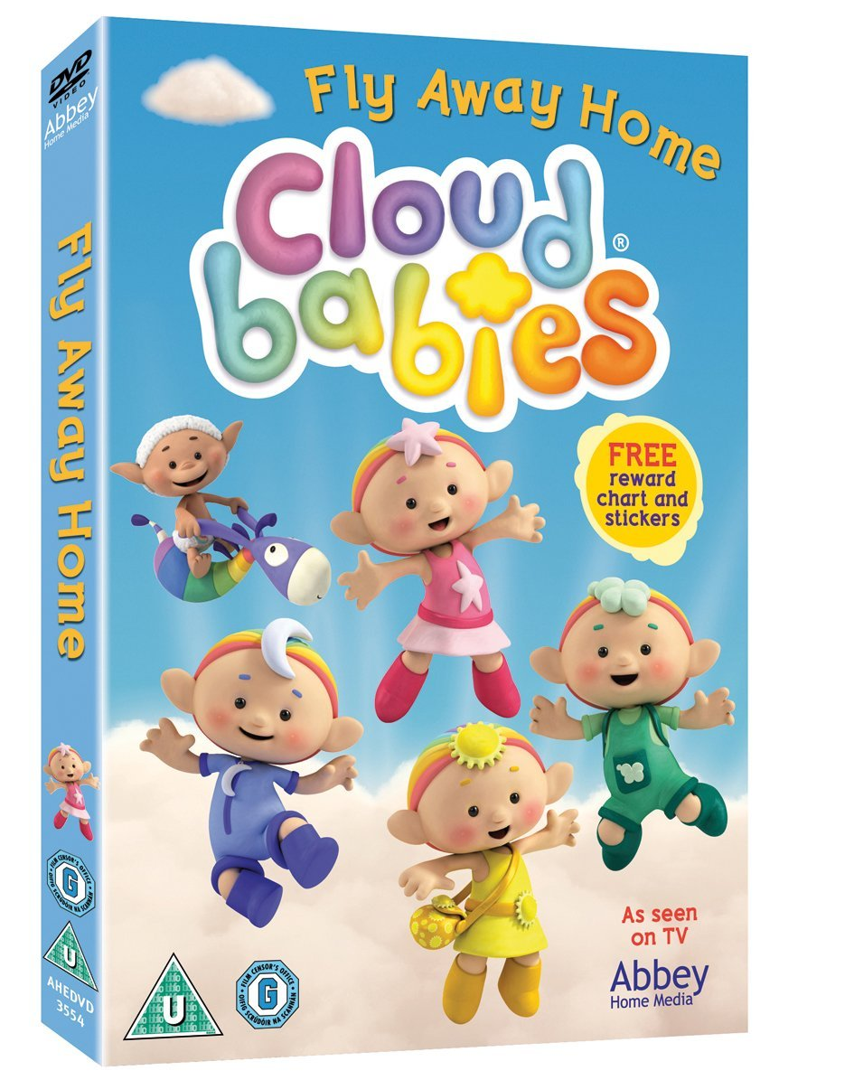Cloudbabies - Fly Away Home WITH FREE REWARD CHART & STICKERS [DVD]