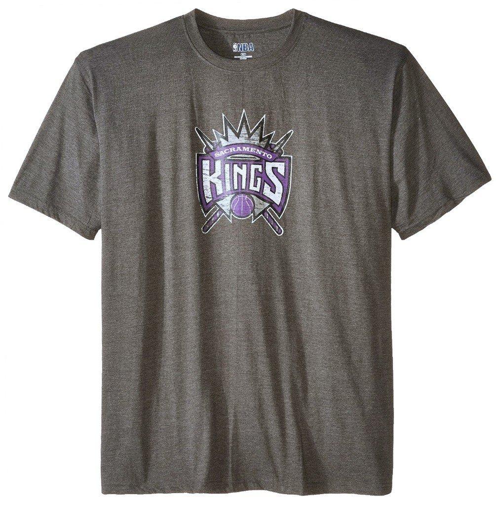 9803ea793 Amazon.com : Majestic Sacramento Kings NBA Mens On Court Shirt Charcoal Big  & Tall Sizes : Sports & Outdoors
