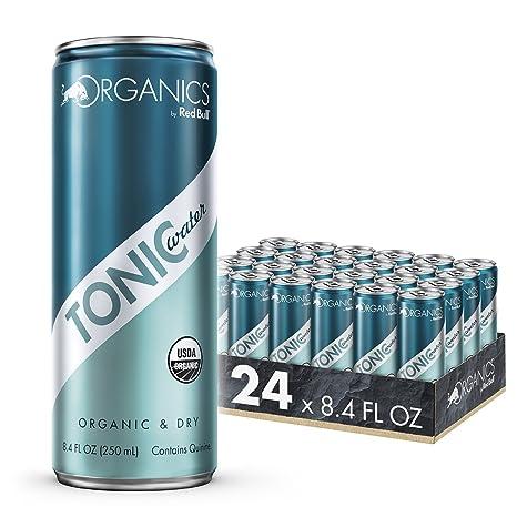 Organics by Red Bull Tonic Water 24 Pack of 8.4 Fl Oz, Organic Soda Drink