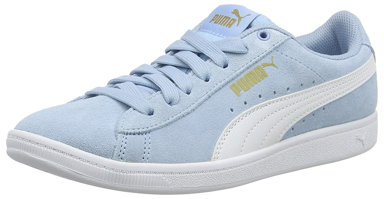 70593d60f200 Puma Girls Vikky Jr Low-Top Sneakers  Amazon.co.uk  Shoes   Bags