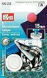 Prym - Bottoni Da Ricoprire, colore Argento, 4 Pz, 23Mm