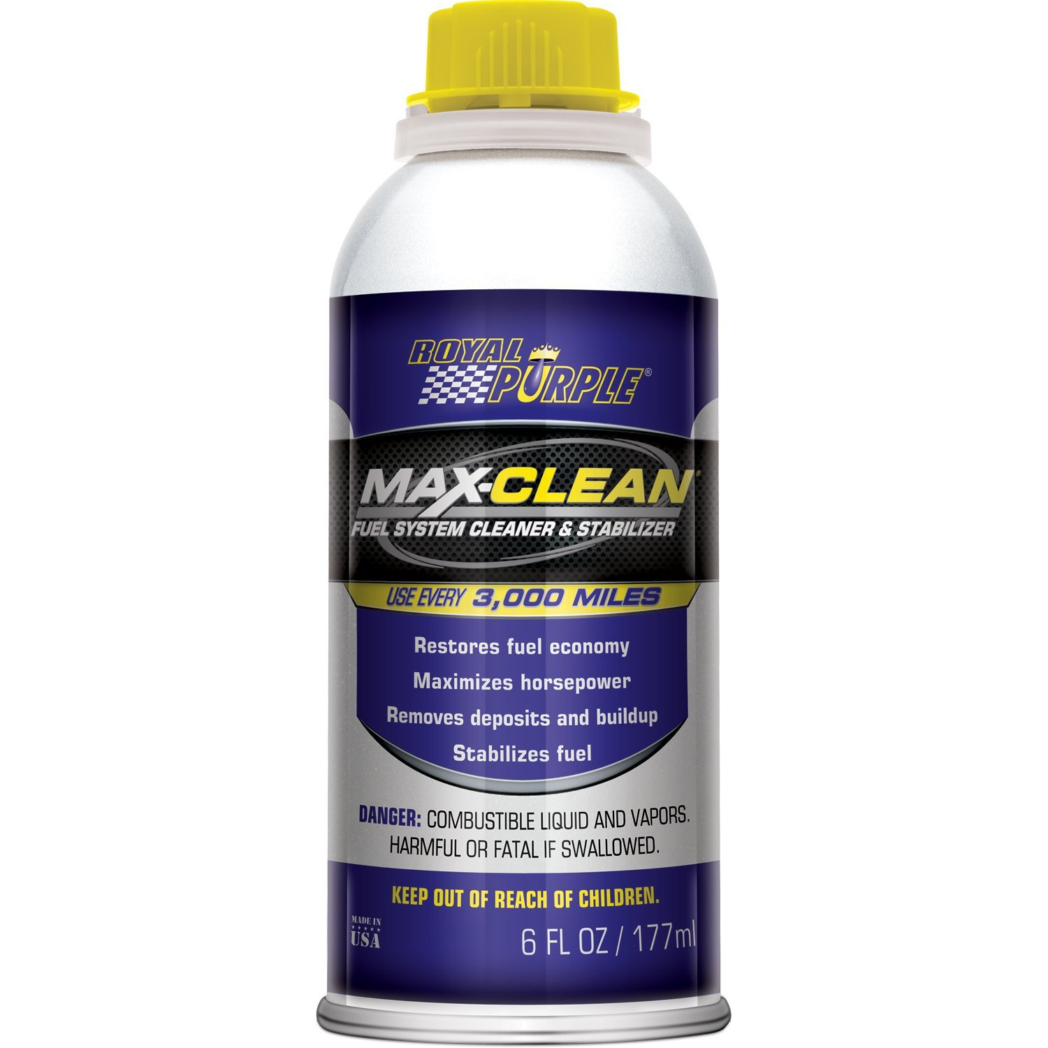 Royal Purple ROY11754 Max-Clean Fuel Cleaner - 6 oz. by Royal Purple