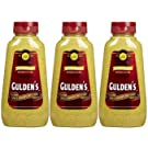 Gulden's Spicy Brown Mustard, 8 Ounce Bottle (Pack of 3)