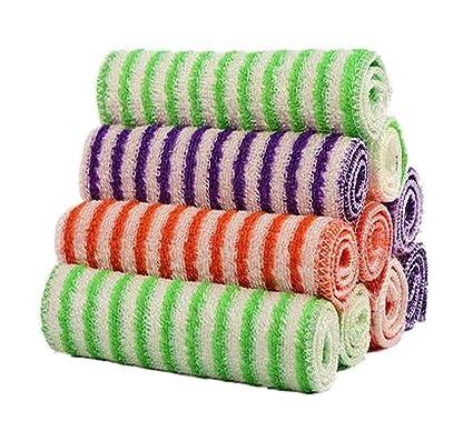 [Raya] Juego de 10 platos de cocina Toallas de cocina Paños de cocina absorbentes
