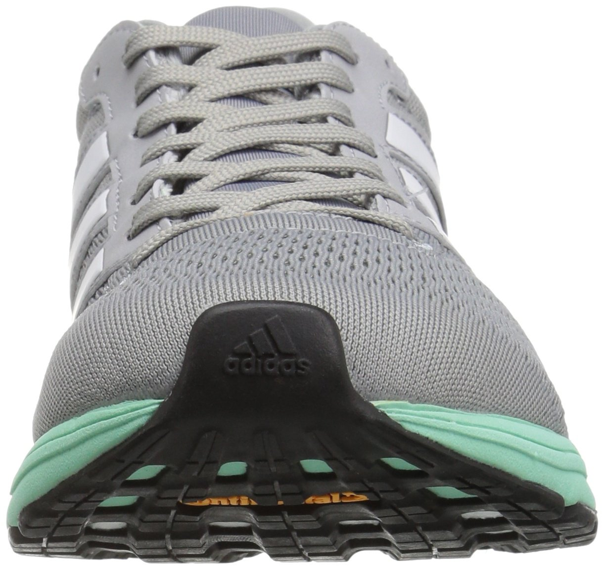 adidas Women's Adizero Boston 6 W Running Shoe B01K513JQ0 9.5 B(M) US|Mid Grey White/Easy Orange S