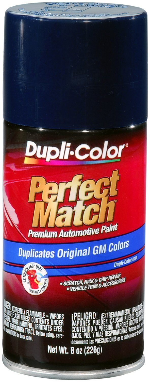 Dupli-Color (EBGM05417-6 PK) Dark Blue General Motors Exact-Match Automotive Paint - 8 oz. Aerosol, (Case of 6) by Dupli-Color