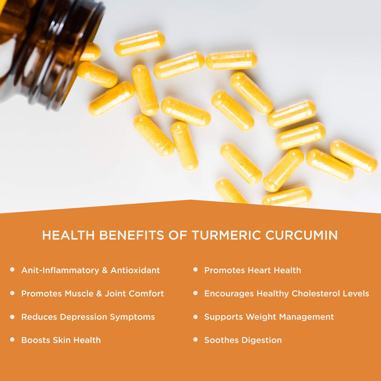Amazon.com: Turmeric Curcumin with Bioperine and Ginger ...
