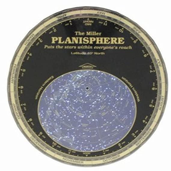 Celestial Products #MPC40 Millers Planisphere 40 No  Large