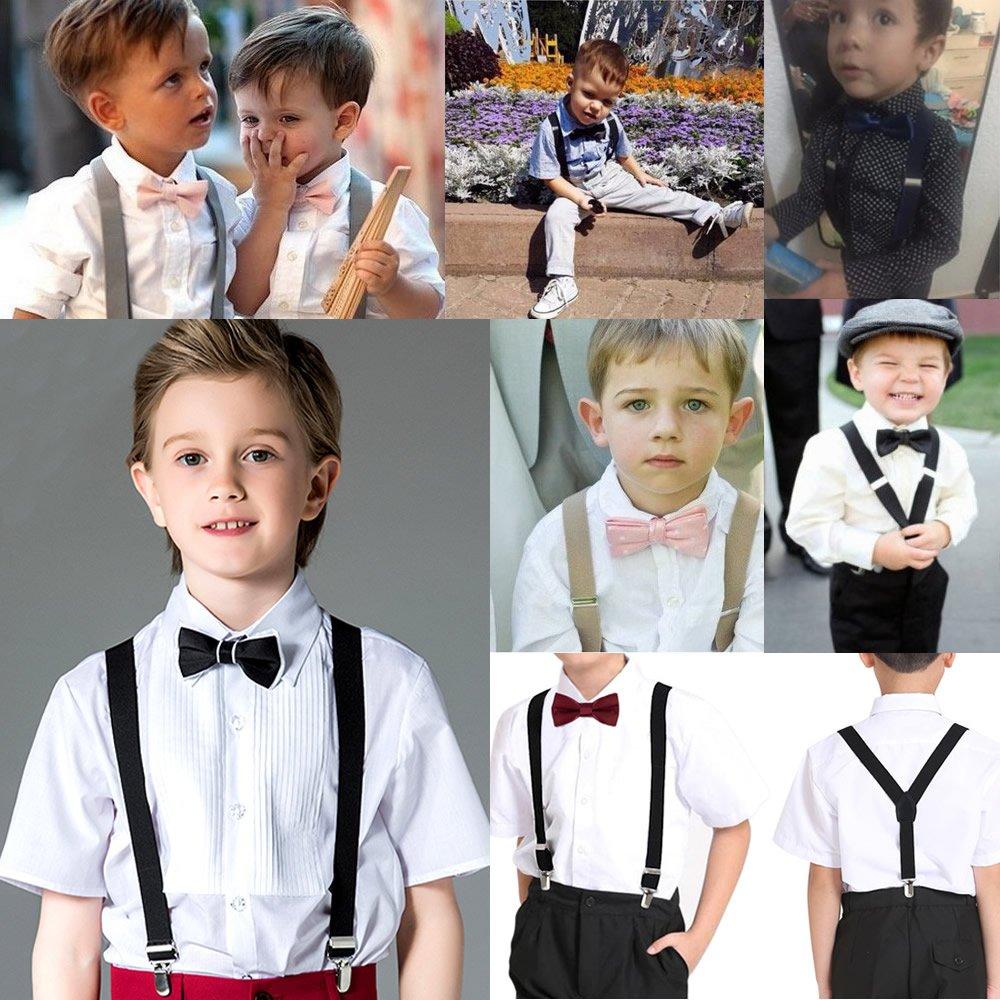 Navy Kids Basic Suspenders FuzzyGreen Classic Y Back Suspenders