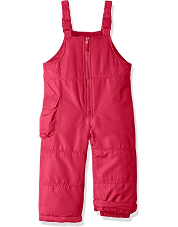 81a3bae758f London Fog Girls  Little Classic Snow Bib Ski Snowsuit