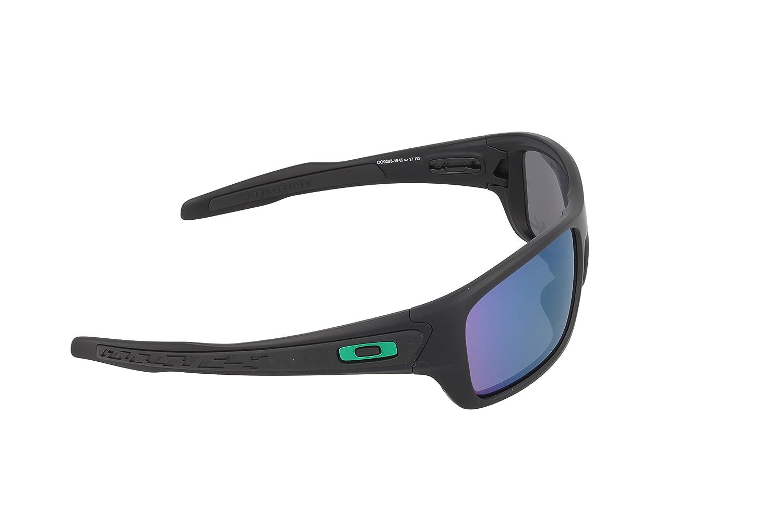 12c6910134 Amazon.com  Oakley Mens Turbine Sunglasses Matte Black Jade  Clothing