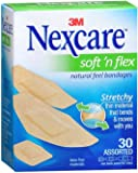 Nexcare Comfort Fabric Bandages Assorted 30 Each