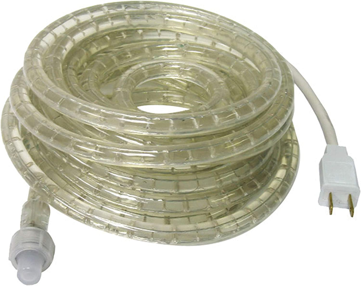 Camco LED 16 Rope Camper Interior and Exterior Lighting for Special Occasions and Outdoor Events 53100 Fits Into Your RV Awning Track