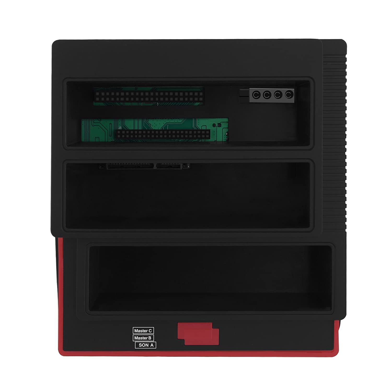 MS//CF USB 3.0 to SATA External HDD Three Bay M2 XD Card Reader Hub SD//MMC Offline Clone Function for 2.5//3.5 HDD IDE SATA I//II// III MS//TF fosa Dual-Bay Hard Drive Docking Station