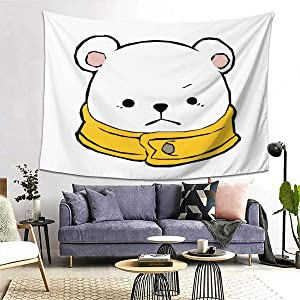 Bepo Chibi! Wall Tapestry Apestry Album 3D Wall Hanging Art Home Decor Wave Tapestries