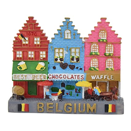 Towashine Resin Belgium Fridge Magnets Home Decoration Tourism Souvenirs