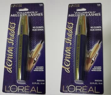 0b44900f336 Image Unavailable. Image not available for. Color: L'Oreal Limited Edition Voluminous  Million Lashes ...