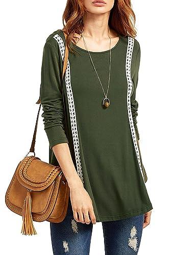 Aisuper - Camisas - Manga Larga - para mujer