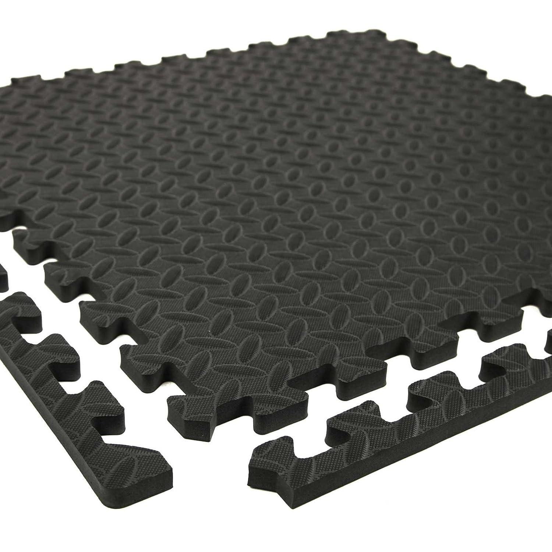 Amazon.com: Incstores Diamond Soft Extra Thick Anti Fatigue Interlocking Foam  Tiles   2ft X 2ft Tiles Ideal For Laundry Room Flooring, Kitchen Mats, ...