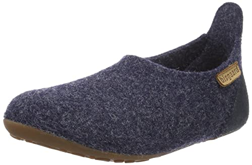 Bisgaard Hausschuhe-Wool Basic, Mocasines Unisex Niños, Weiß (171 Creme-Flowers), 31 EU