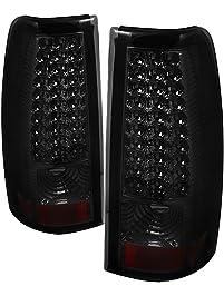 Spyder Auto ALT-ON-CS03-LED-SM Chevy Silverado 1500/2500/3500 and GMC Sierra 1500/2500/3500 Smoke LED Tail Light