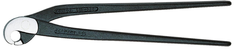 KNIPEX 91 00 200 Fliesenlochzange (Papageienschnabelzange) schwarz atramentiert 200 mm