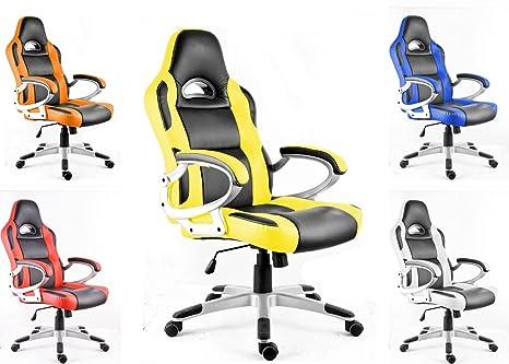 Polironeshop monza sedia poltrona presidenziale per gaming racing