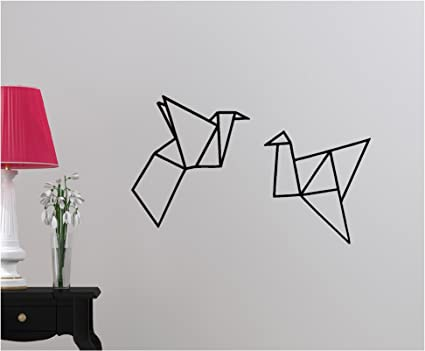 Amazon Com Origami Wall Decor Bedroom Wall Art Classroom