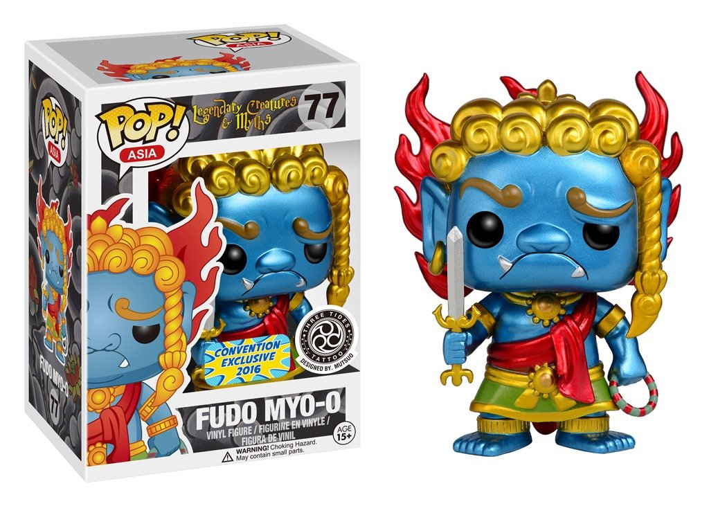 SDCC 2016 Exclusive Street Fighter Fudo Myo-o POP! Vinyl Figure