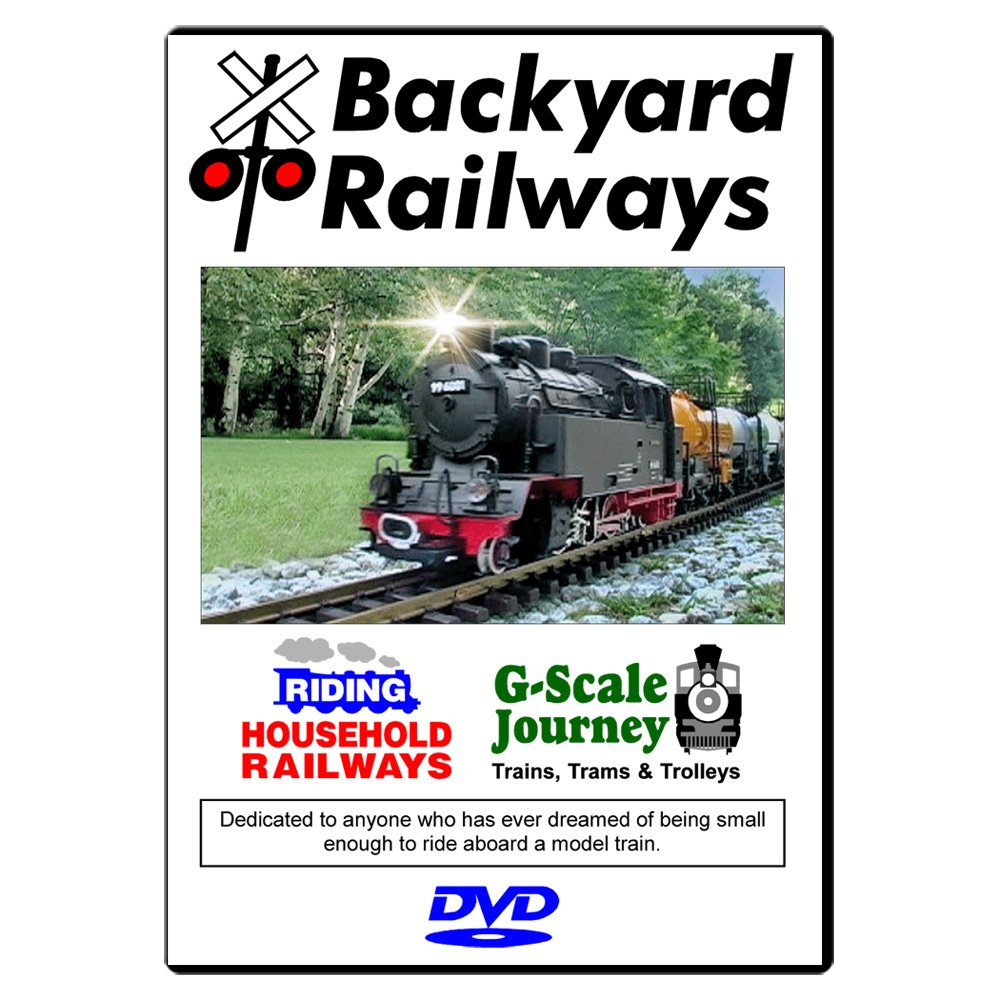 amazon com backyard railways g scale model trains in action for