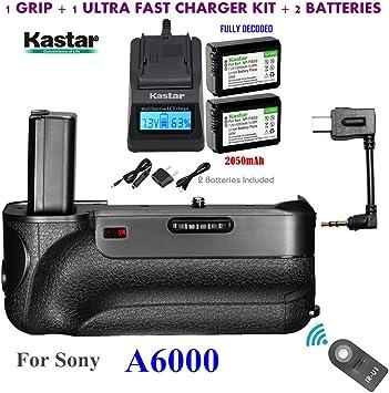 control remoto por infrarrojos Nueva Cámara Vertical Battery Grip Soporte Para Sony A6000 NEX