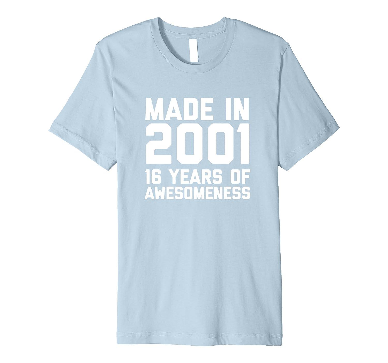 16th Birthday Shirt Gift Age 16 Sixteen Year Old Boy Girl-ANZ