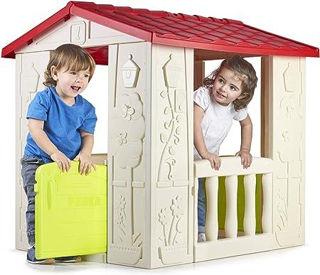FEBER - Casa Happy House, casita infantil para niños y niñas de los 2 a los 6 años (Famosa 800012380): Amazon.es: Juguetes y juegos