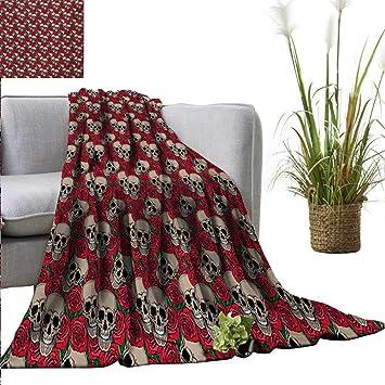 Amazon.com: AndyTours - Manta de cama, diseño gótico retro ...