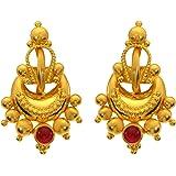 Joyalukkas 22KT (916) Yellow Gold Stud Earrings for Women (BN11200775)