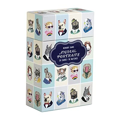 Animal Portraits Memory Game: Galison, Berkley Illustration: Toys & Games