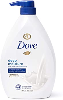3-Count Dove Sulfate Free Deep Moisture Body Wash with Pump 34 Oz