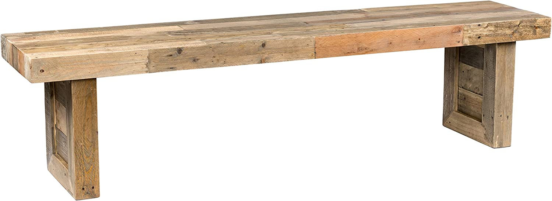 "Kosas Home Norman Bench, 71"", Natural Pine Finish"