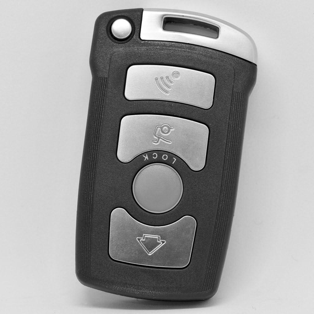 Auto Schlüssel Funk Fernbedienung 1x Gehäuse 4 Tasten Elektronik