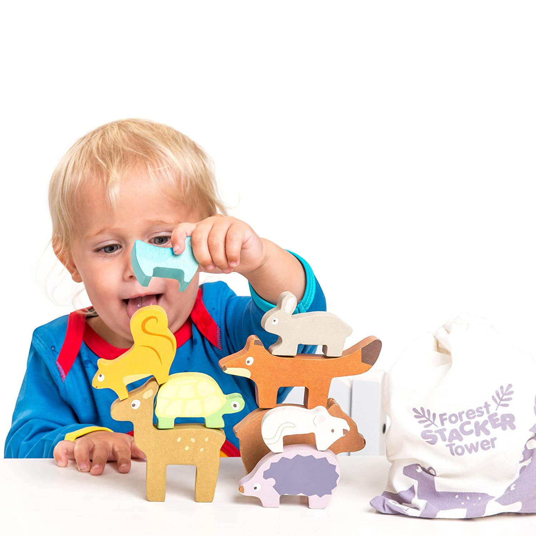 Le Toy Van Andes Stacking Toy Premium Wooden Toys Safe for Children 12 Months /& Older