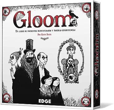 Edge Entertaiment - Juego de cartas Gloom (EEAGGL01): Amazon.es: Juguetes y juegos