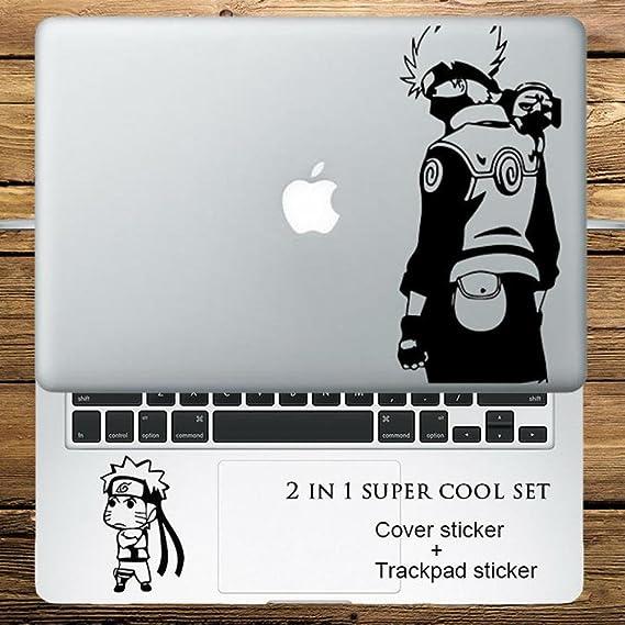 Circle Love Computer Decals Naruto Kakashi Ninja 2 In 1 Cover Sticker + Trackpad Stickers Set