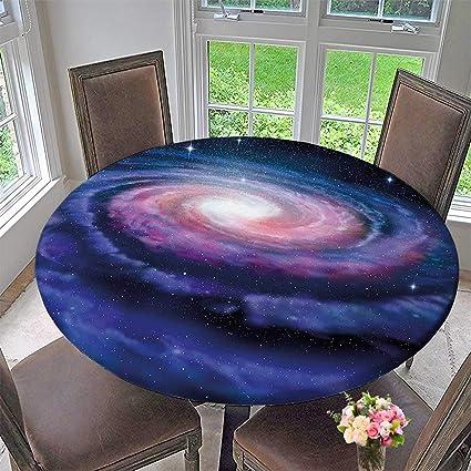 Amazoncom The Round Table Cloth Spiral Galaxy Andromeda Milky Way