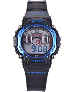 Amazon.com: Water Resistant Digital Sports Wrist Watches for ...