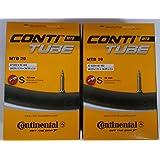 "Continental MTB Tube 29"" Cámara de Aire, Unisex-Adult, Negro, [47-622->62-622]"