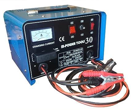 Coche batería Carga Dispositivo CB30 Batterielader PKW LKW ...
