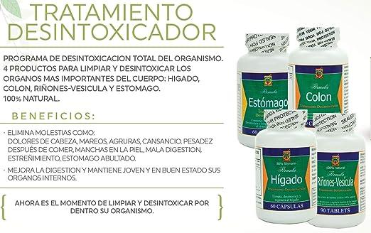 Amazon.com: Desintoxicador 4 Productos Para Limpiar Y Desintoxicar ...