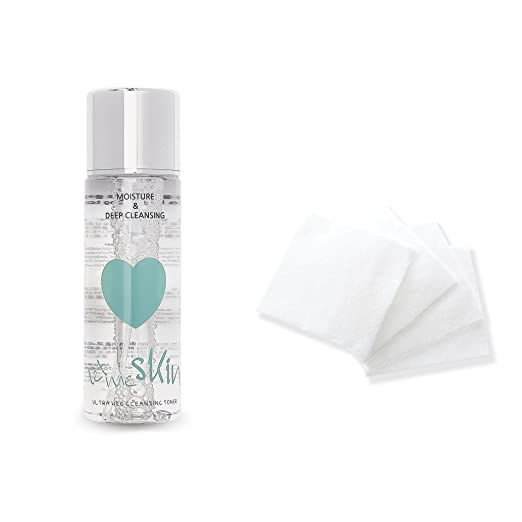 LET ME Ultra H2O Cleansing Toner + Ultra Silky Pads Set