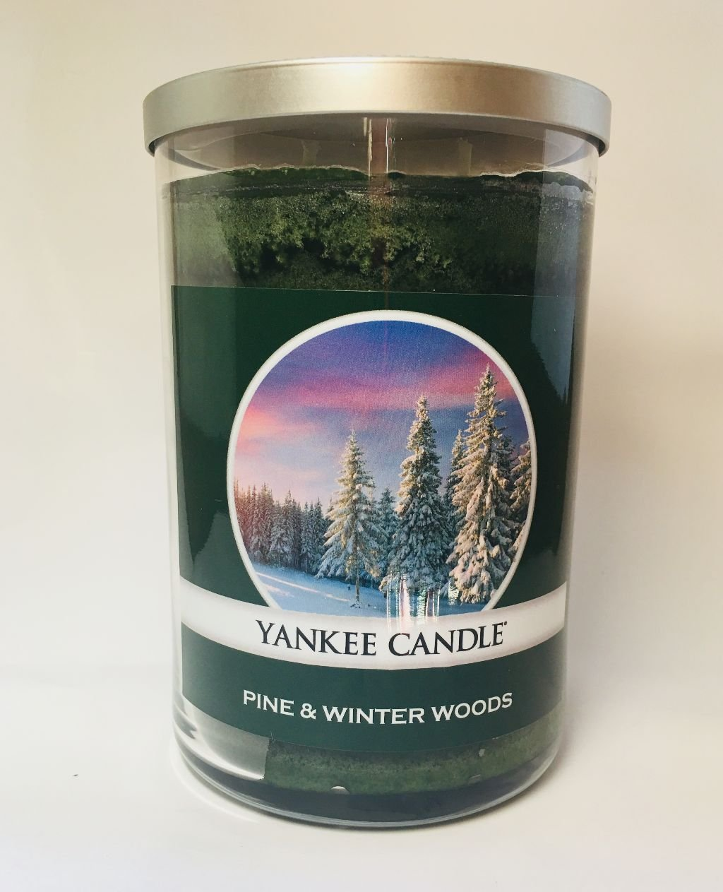 Yankee Candle Large 2 Wick PINE & WINTER WOODS Tumbler Candle
