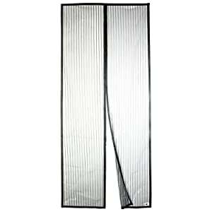 "Apalus Magnetic Screen Door, 36""x83"" Super Strong Fly Mesh, 28 Magnets from Top to Bottom Ultra Seal Magnets Close Automatically"